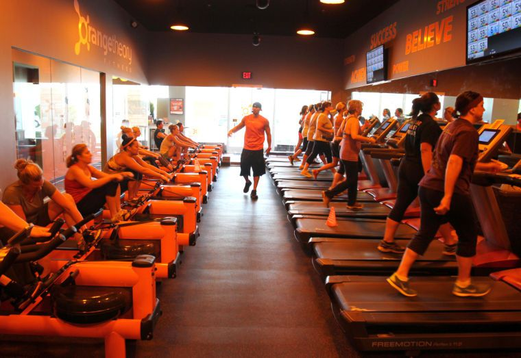 My First Orange Theory Class