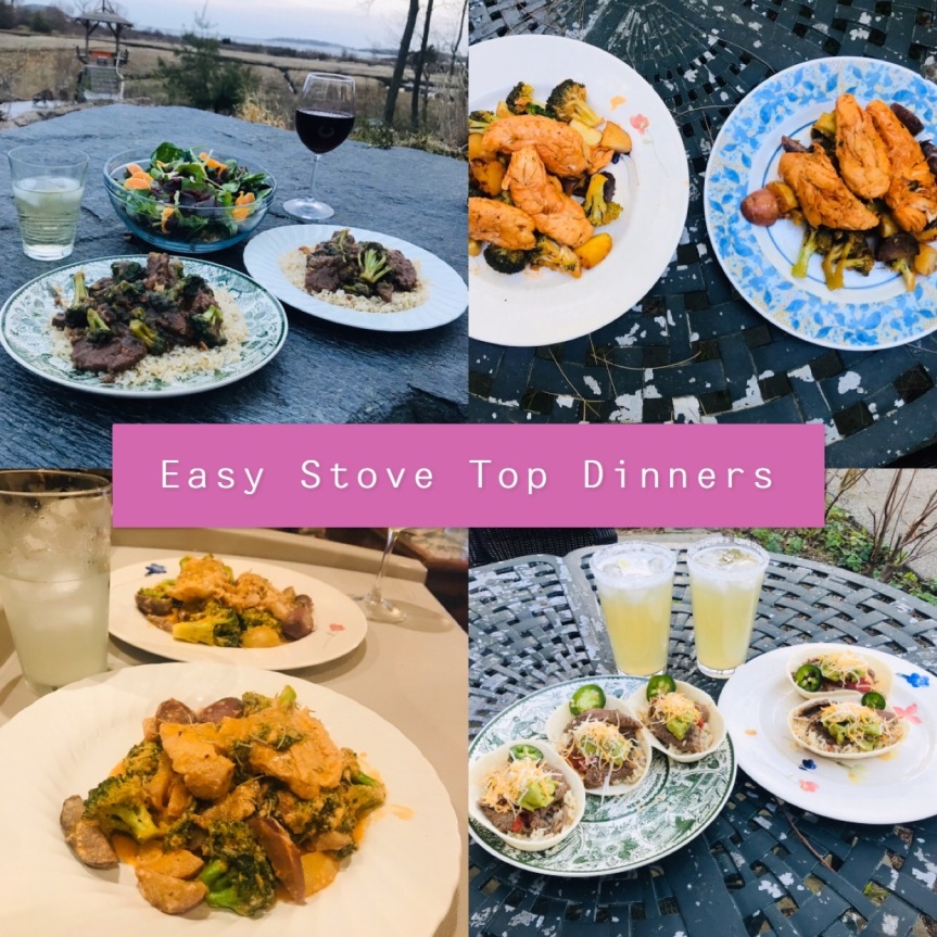 Easy Stove Top Dinners